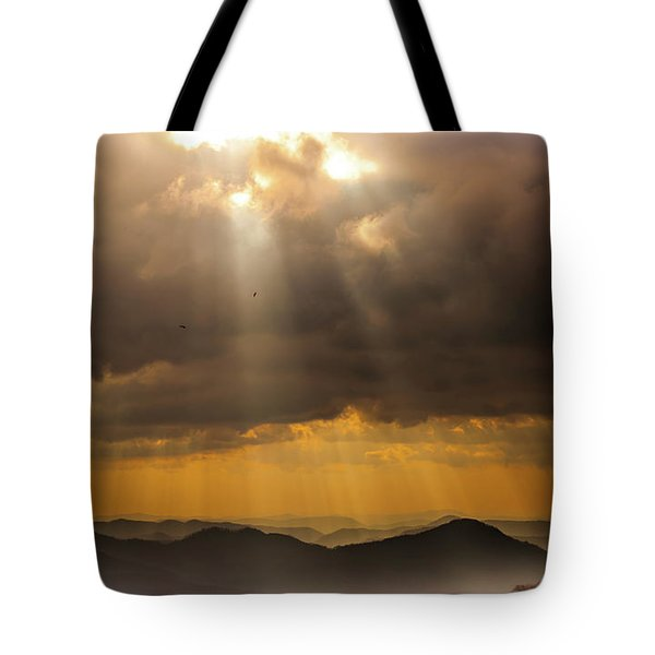 Then Sings My Soul Tote Bag by Karen Wiles