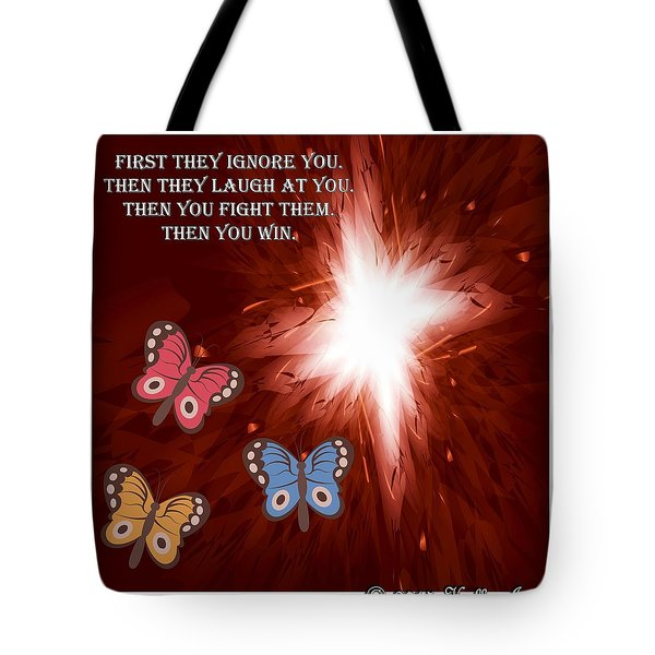 Then You Win Tote Bag