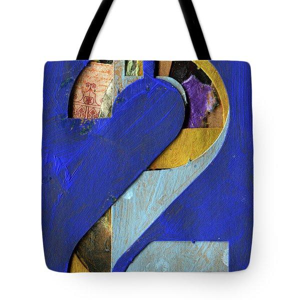 Thenumber 2 Tote Bag