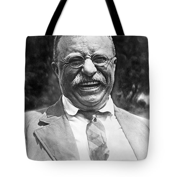 Theodore Roosevelt Laughing Tote Bag