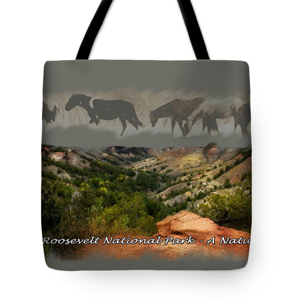 Theodore Roosevelt National Park Tote Bag