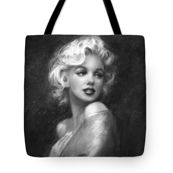 Theo's Marilyn Ww Bw Tote Bag