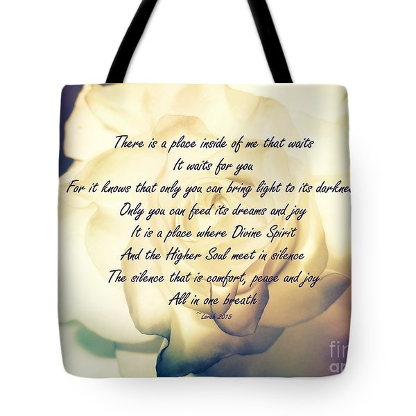 There Is A Place Tote Bag
