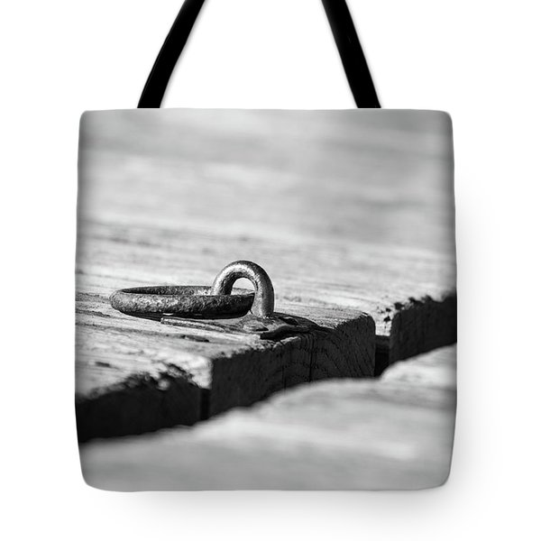 Tote Bag featuring the photograph There by Karol Livote