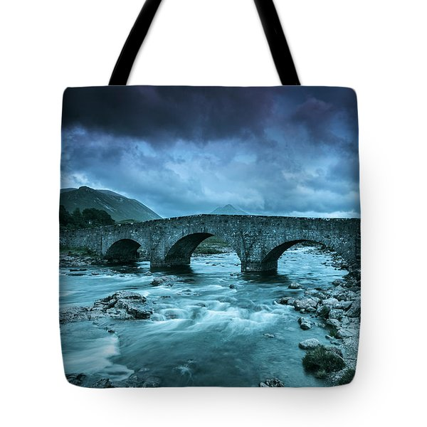 There Will Be Bridges Tote Bag
