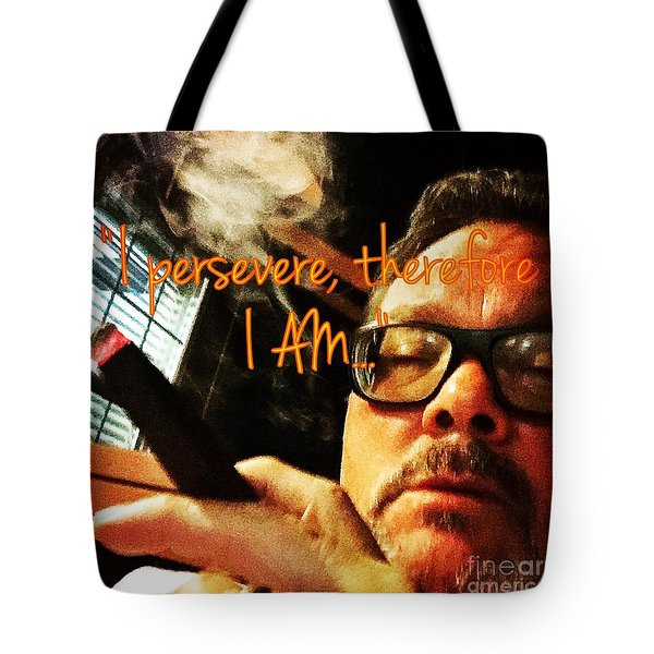 Therefore I Am Tote Bag