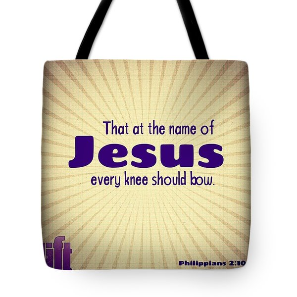 Therefore If You Have Any Encouragement Tote Bag