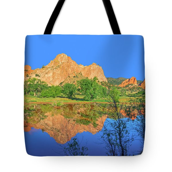 There's A Plenitude Of Awe-inspiring Rock Formations In Colorado.  Tote Bag by Bijan Pirnia