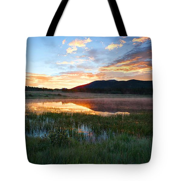 There's A Song In The Air Tote Bag by Jim Garrison