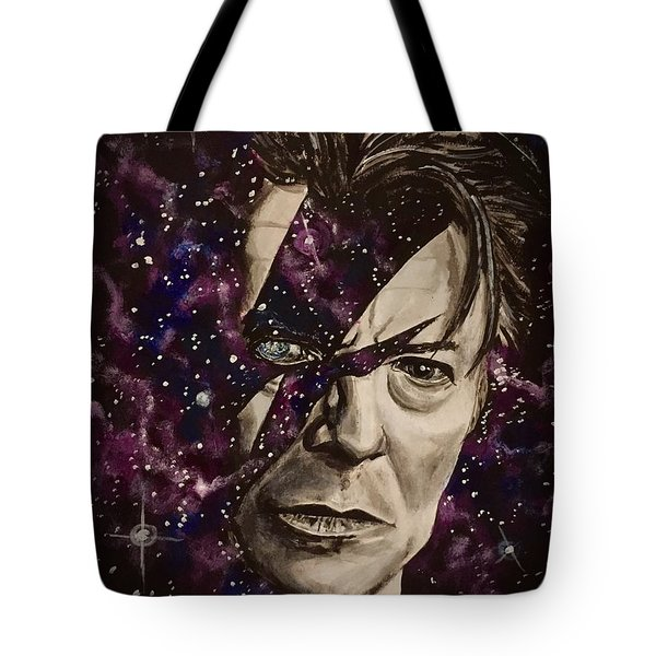 There's A Starman Waiting In The Sky Tote Bag
