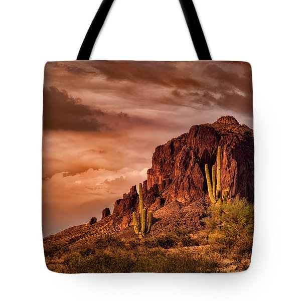 Tote Bag featuring the photograph There's Gold In Them Hills  by Saija Lehtonen