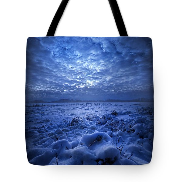 There's No Point Escaping Tote Bag