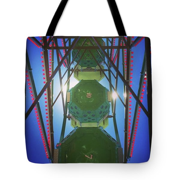 Lunchtime Ferris Wheel Tote Bag