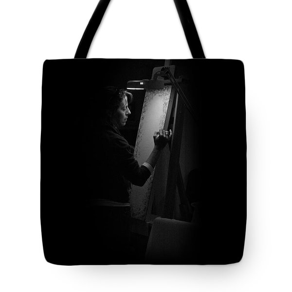 Theresa Marie Johnson, Painter Tote Bag