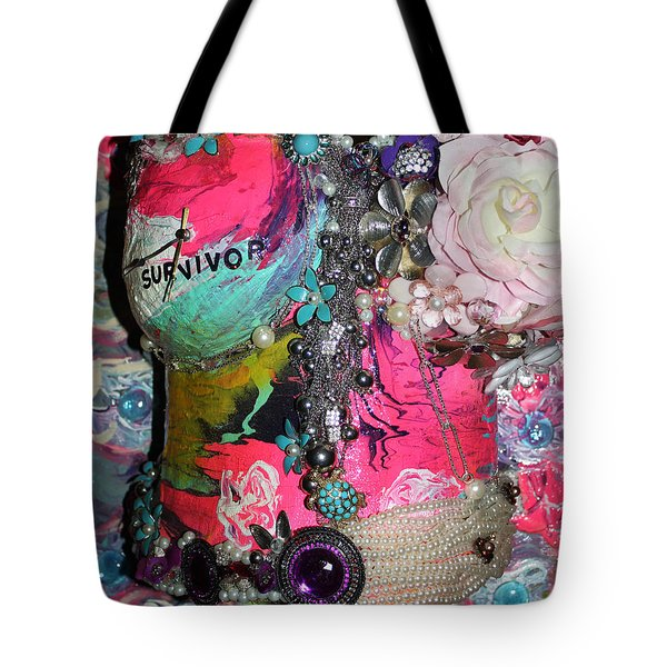 Therese - In The Garden Of My Heart Tote Bag