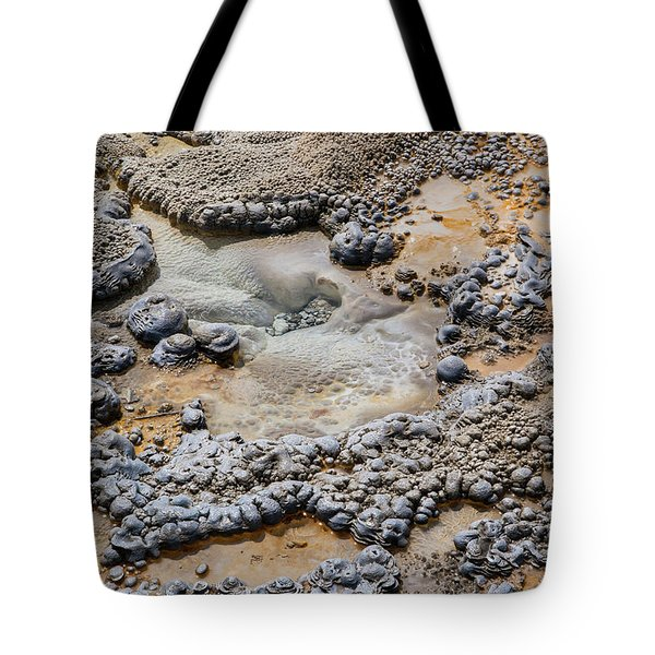 Tote Bag featuring the photograph Thermal Microcosm by Lon Dittrick