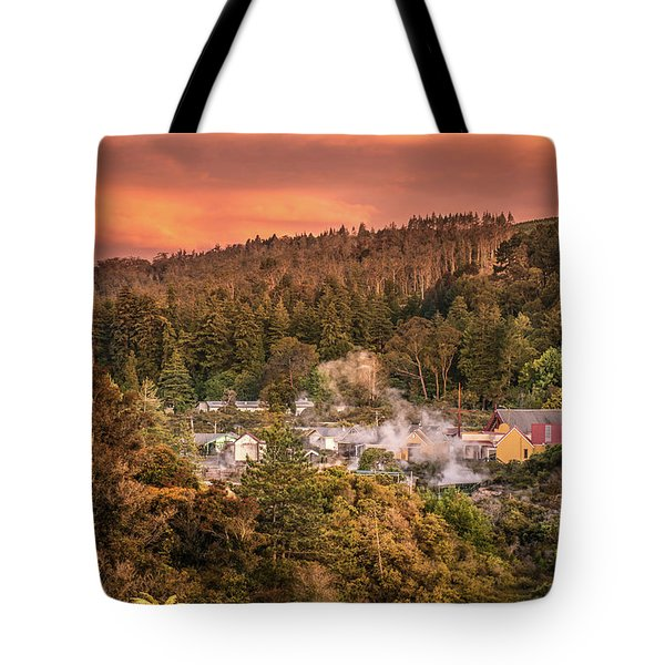 Thermal Village Rotorua Tote Bag