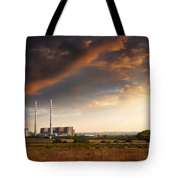 Thermoelectrical Plant Tote Bag by Carlos Caetano