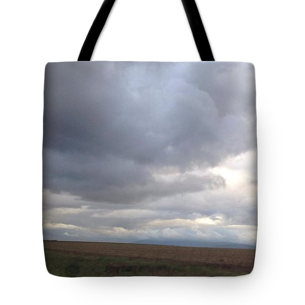 Cloudy Moods Tote Bag