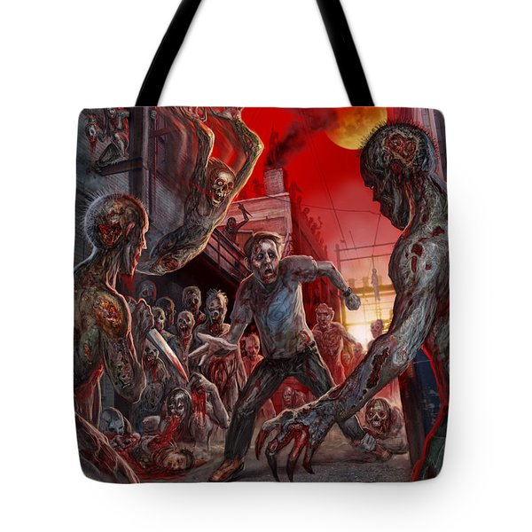 These Last Days Of Humanity  Tote Bag by Tony Koehl