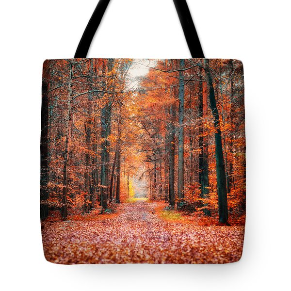 Tote Bag featuring the photograph Thetford Forest by James Billings