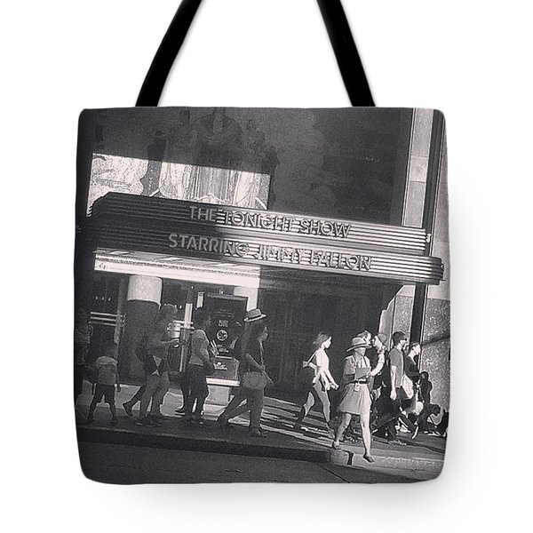 The Tonight Show  Tote Bag