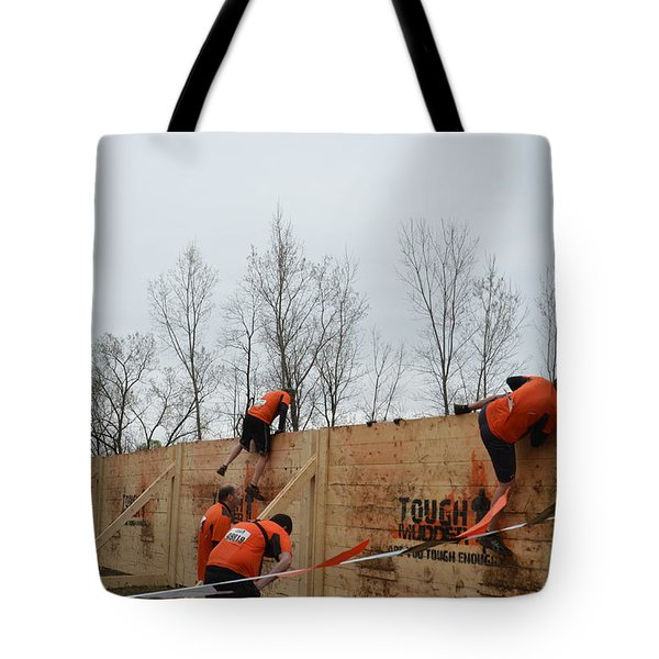 They Call It The Berlin Walls Tote Bag