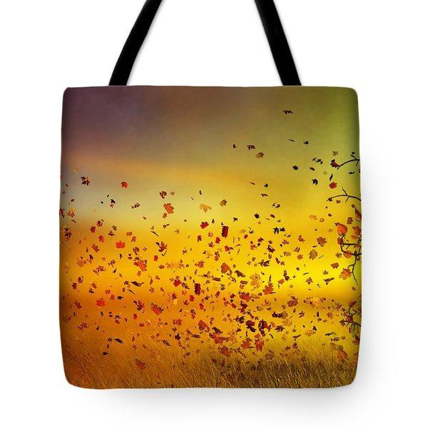They Call Me Fall Tote Bag