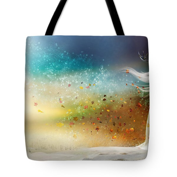 They Call Me Winter Tote Bag by Mary Hood