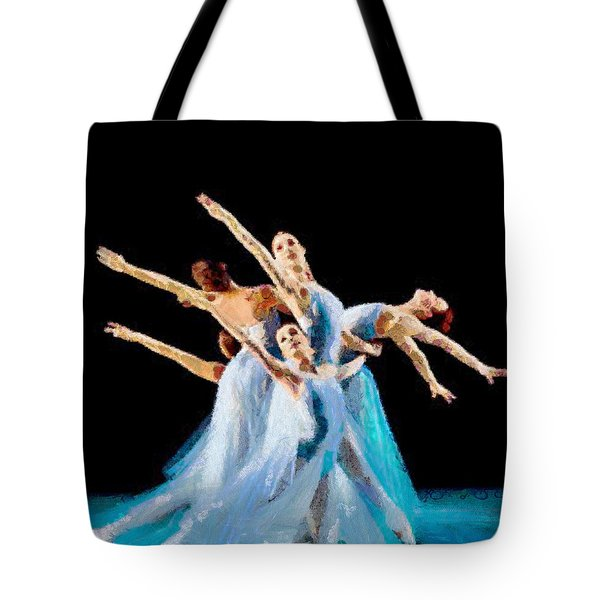 They Danced Tote Bag