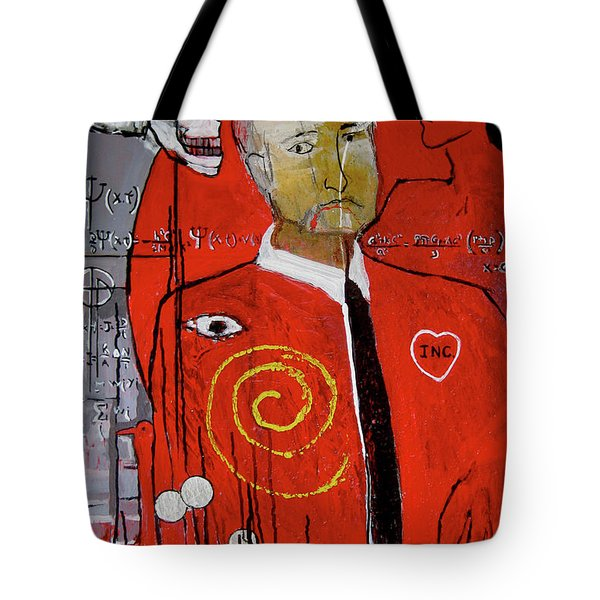 They Say Greed Is A Deadly Sin Tote Bag