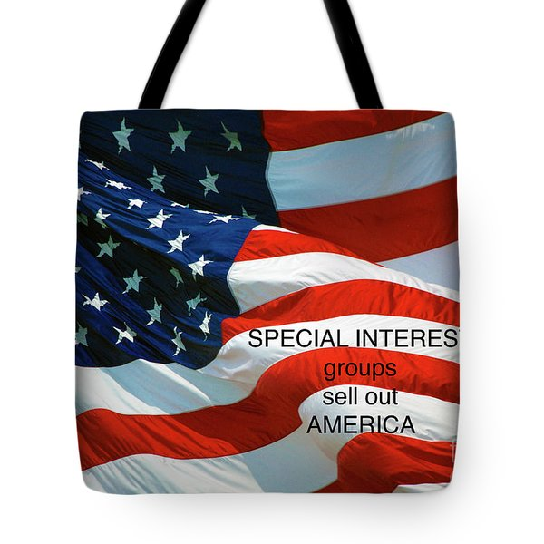 Tote Bag featuring the photograph They Sell Us Out by Paul W Faust - Impressions of Light