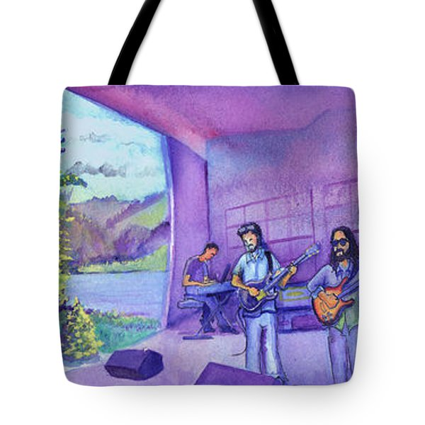 Thin Air At Dillon Amphitheater Tote Bag by David Sockrider