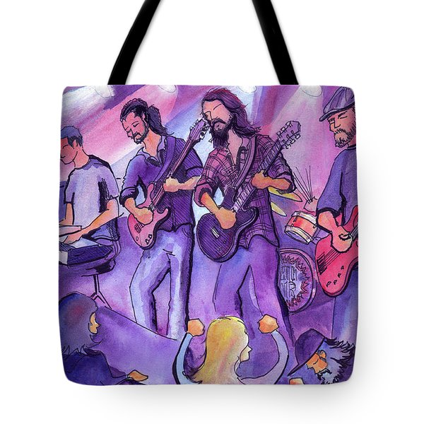 Thin Air At The Barkley Ballroom In Frisco, Colorado Tote Bag by David Sockrider