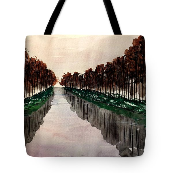Things Appear Larger Tote Bag
