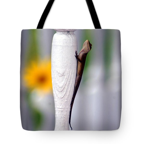 Tote Bag featuring the photograph Things Are Looking Up by Donna Bentley