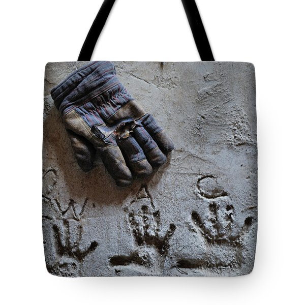 Tote Bag featuring the photograph Things Left Behind by Susan Capuano