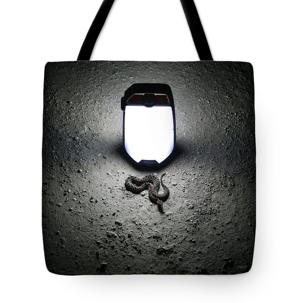 Tote Bag featuring the photograph Things That Go Bump In The Night by Kyle Findley