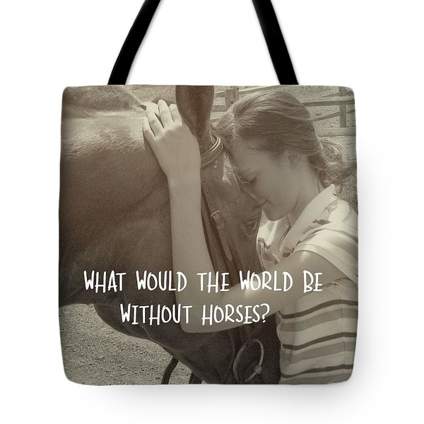 Think As One Quote Tote Bag by JAMART Photography