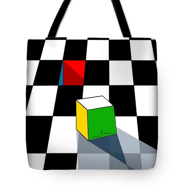 Think Different Tote Bag by Miki De Goodaboom