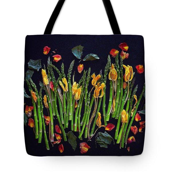 Think Spring Asparagus Tote Bag