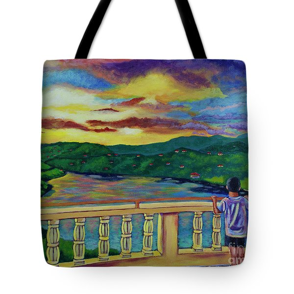 Thinking About Paradise Tote Bag