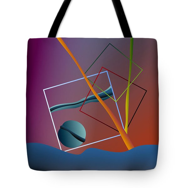 Thinking About The Future Tote Bag