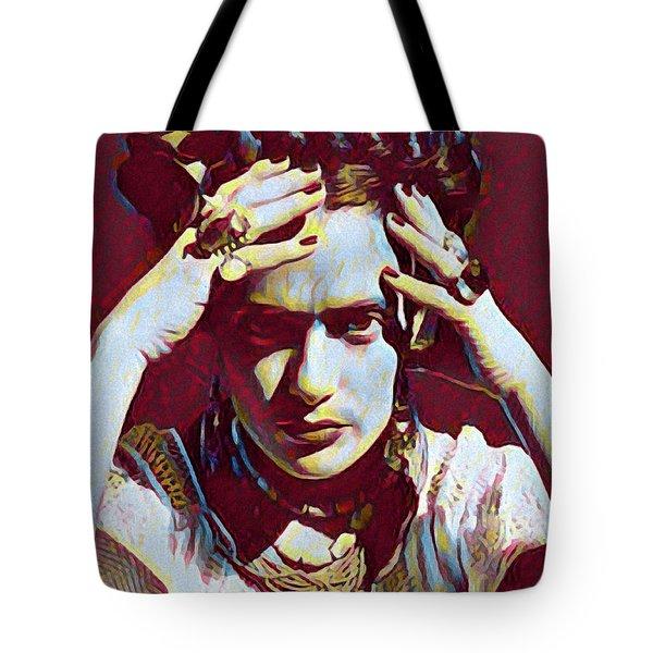 Thinking Frida Tote Bag