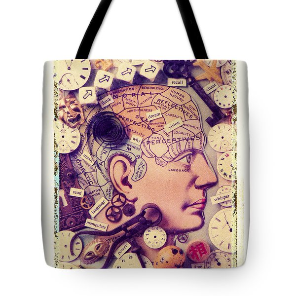 Thinking Tote Bag by Garry Gay