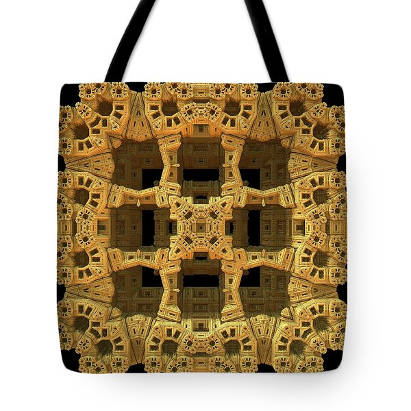 Thinking Inside The Box Tote Bag by Lyle Hatch