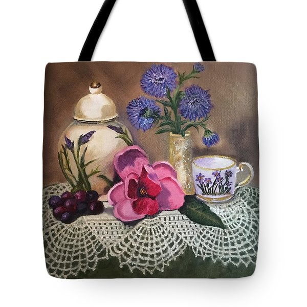 Thinking Of Tea  Tote Bag