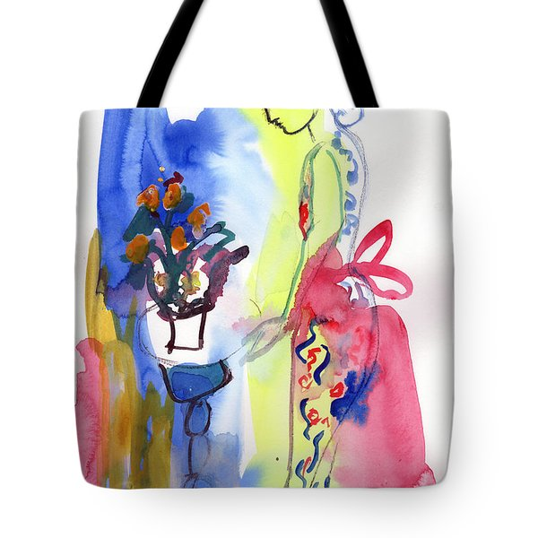 Thinking Of Tonight Tote Bag