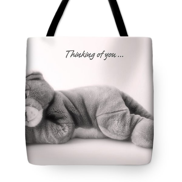 Thinking Of You Tote Bag by Gina Dsgn