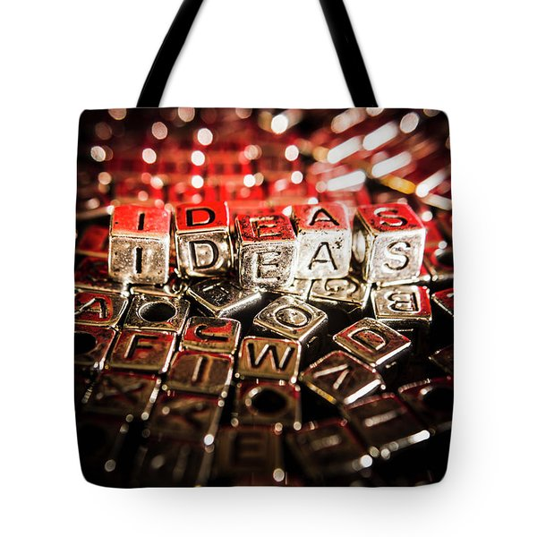 Thinking Outside The Boxes Tote Bag